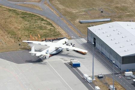 Luftaufnahme Antonow AN-22
