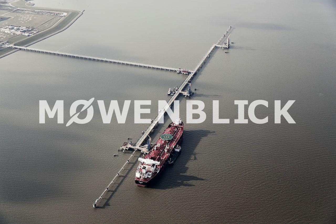 Ölhafen Luftbild