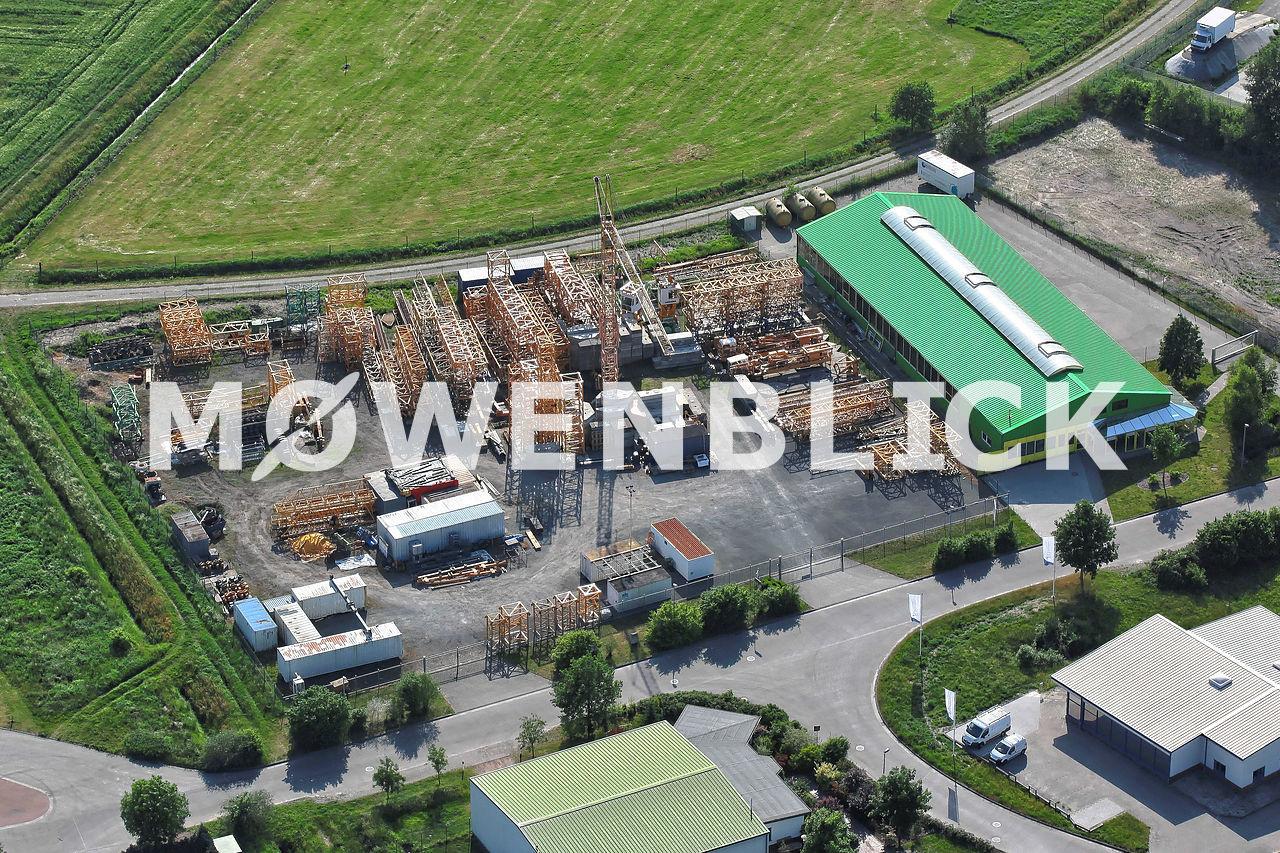 Schaum-Systemzentrale Deutschland Luftbild