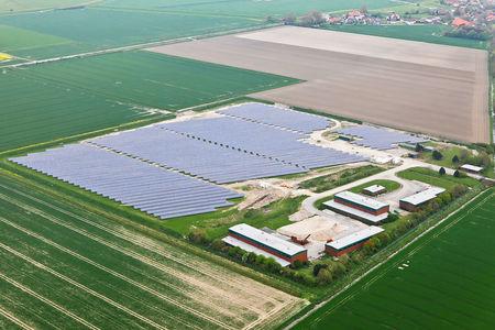 Luftaufnahme Solarpark Friederikentief
