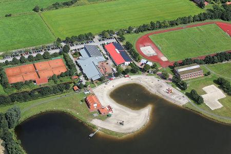 Luftaufnahme Ihler Badesee