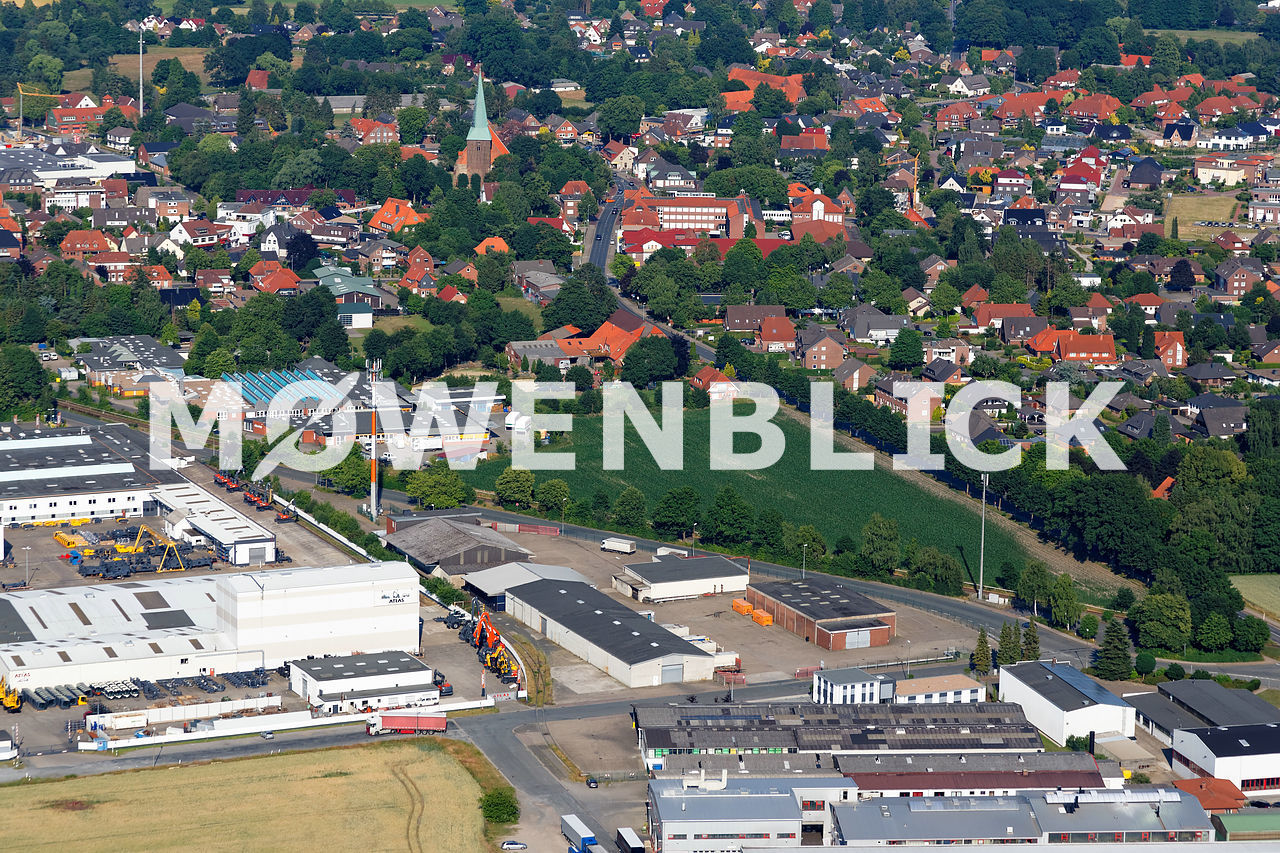 Bergedorfer Straße Luftbild