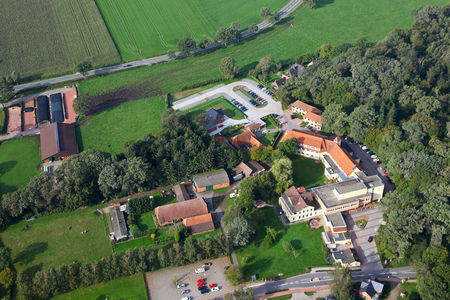 Luftaufnahme Krankenhaus Stenum