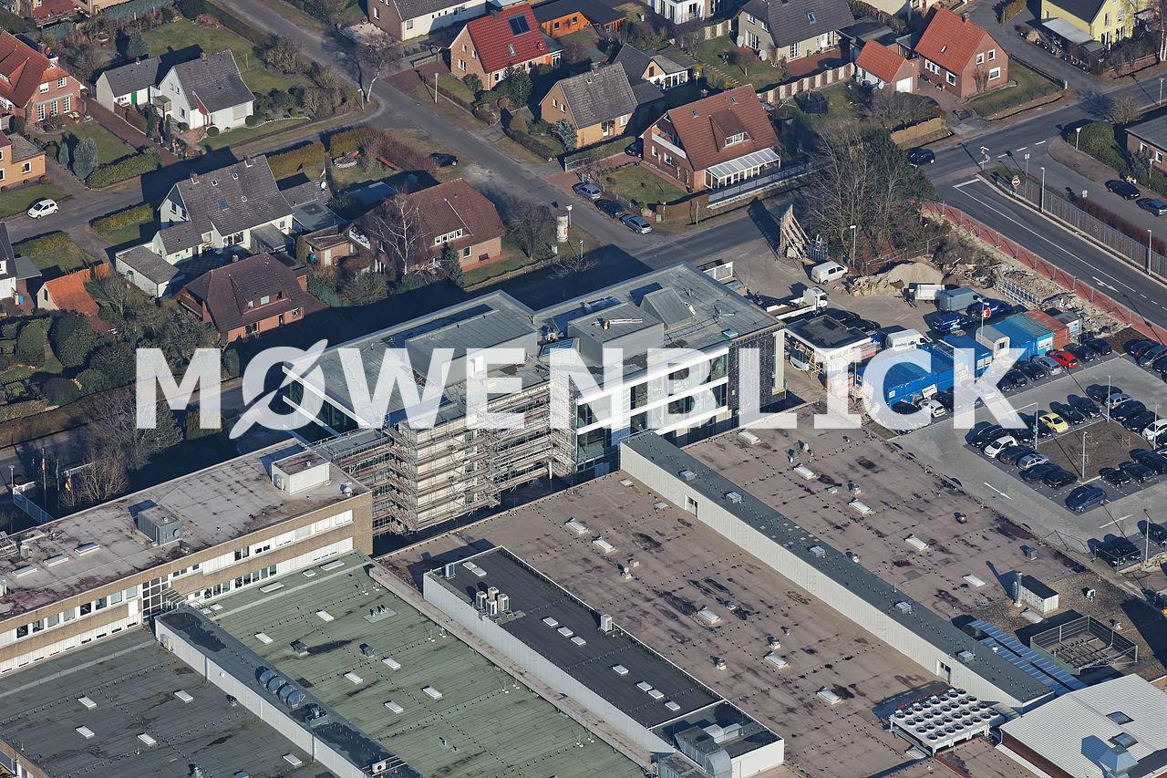 Cewe Hauptverwaltung Luftbild