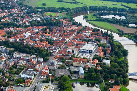 Luftaufnahme Nienburg
