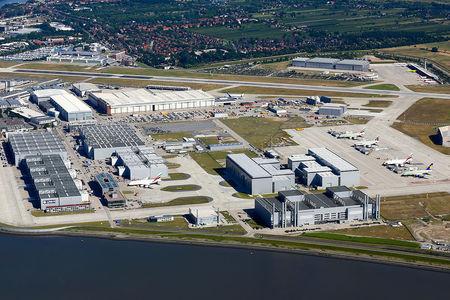 Luftaufnahme Terminal