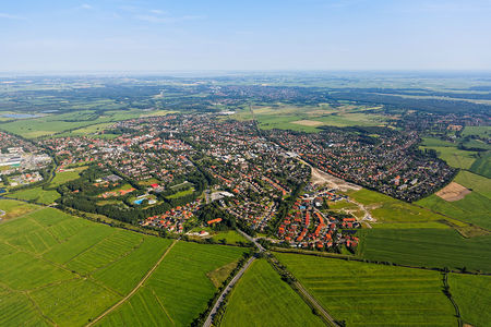 Luftaufnahme Luftbild von Jever