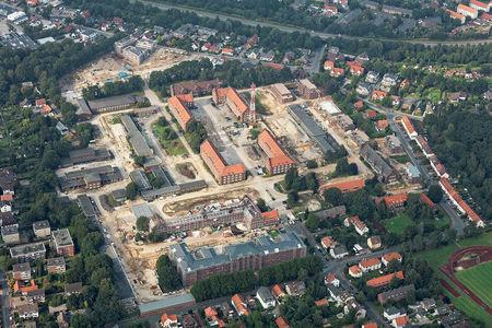 Kaserne Baustelle Donnerschwee