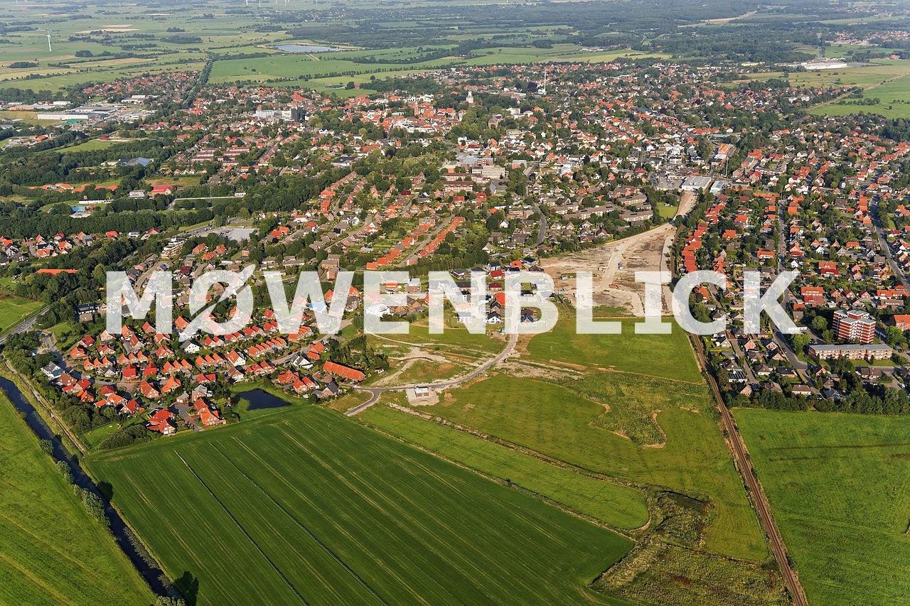 Baugebiet Normannenviertel Luftbild