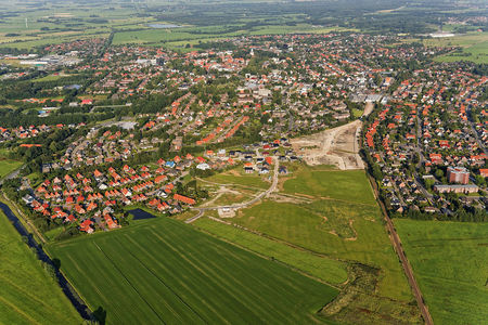 Luftaufnahme Baugebiet Normannenviertel