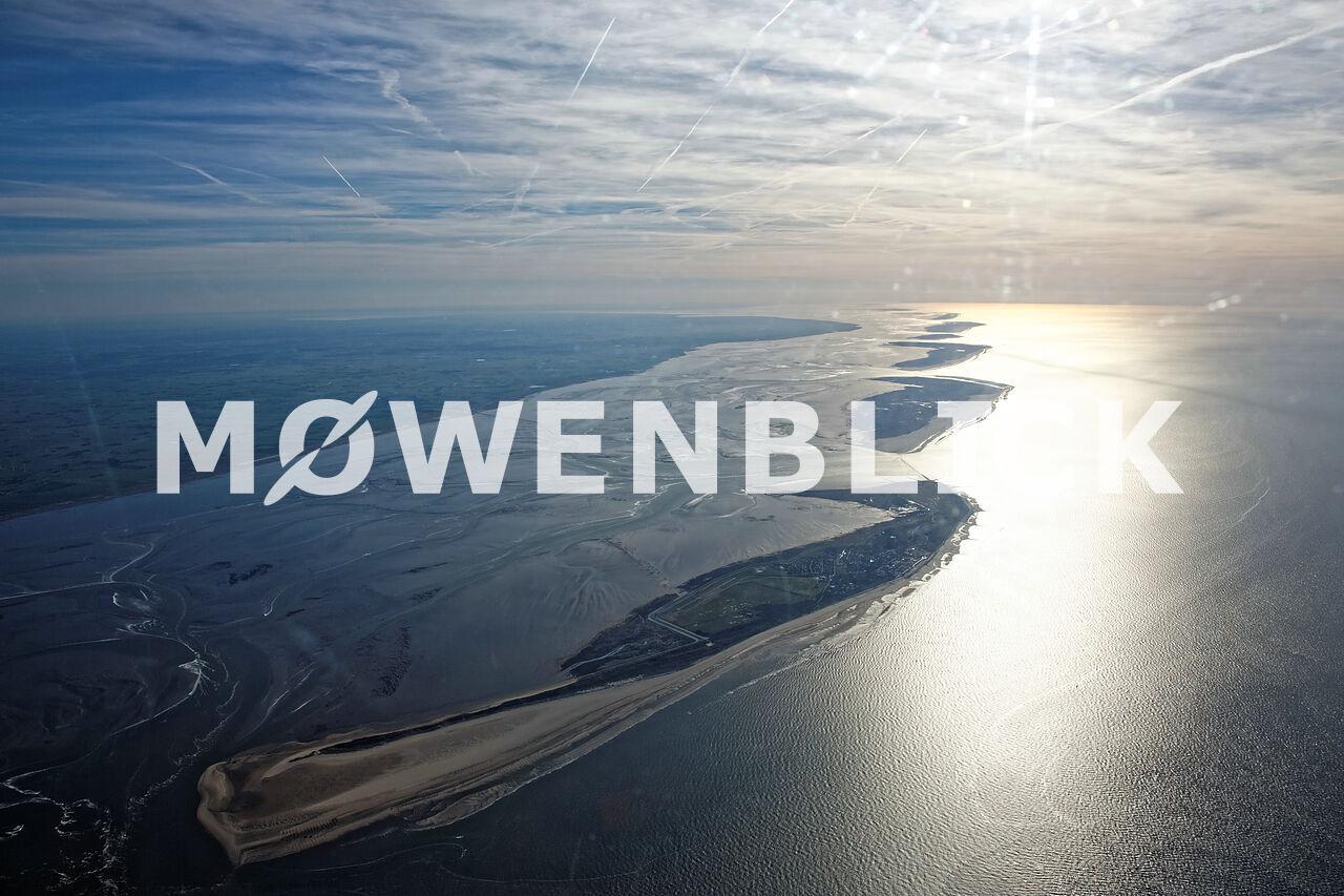 Nordseeinseln Luftbild