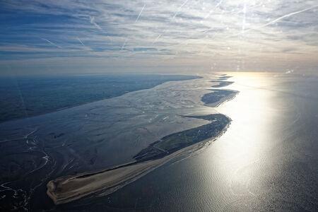 Luftaufnahme Nordseeinseln