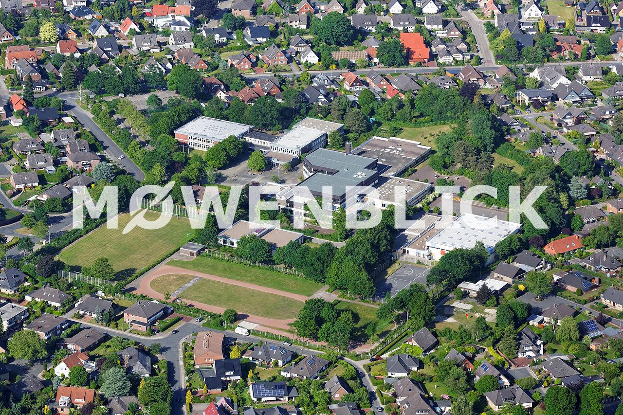 Gymnasium Wildeshausen Luftbild