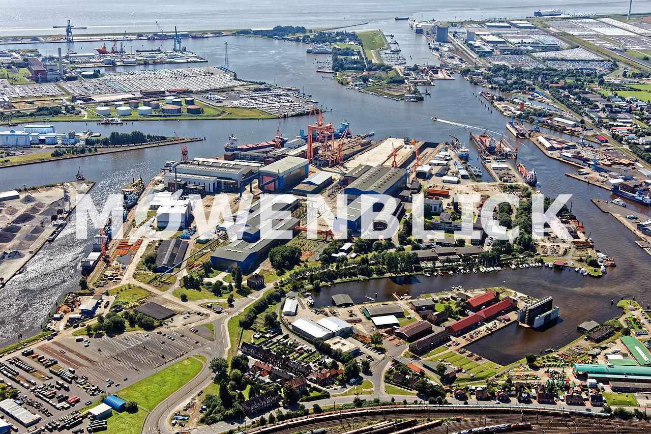 Shipyard Luftbild