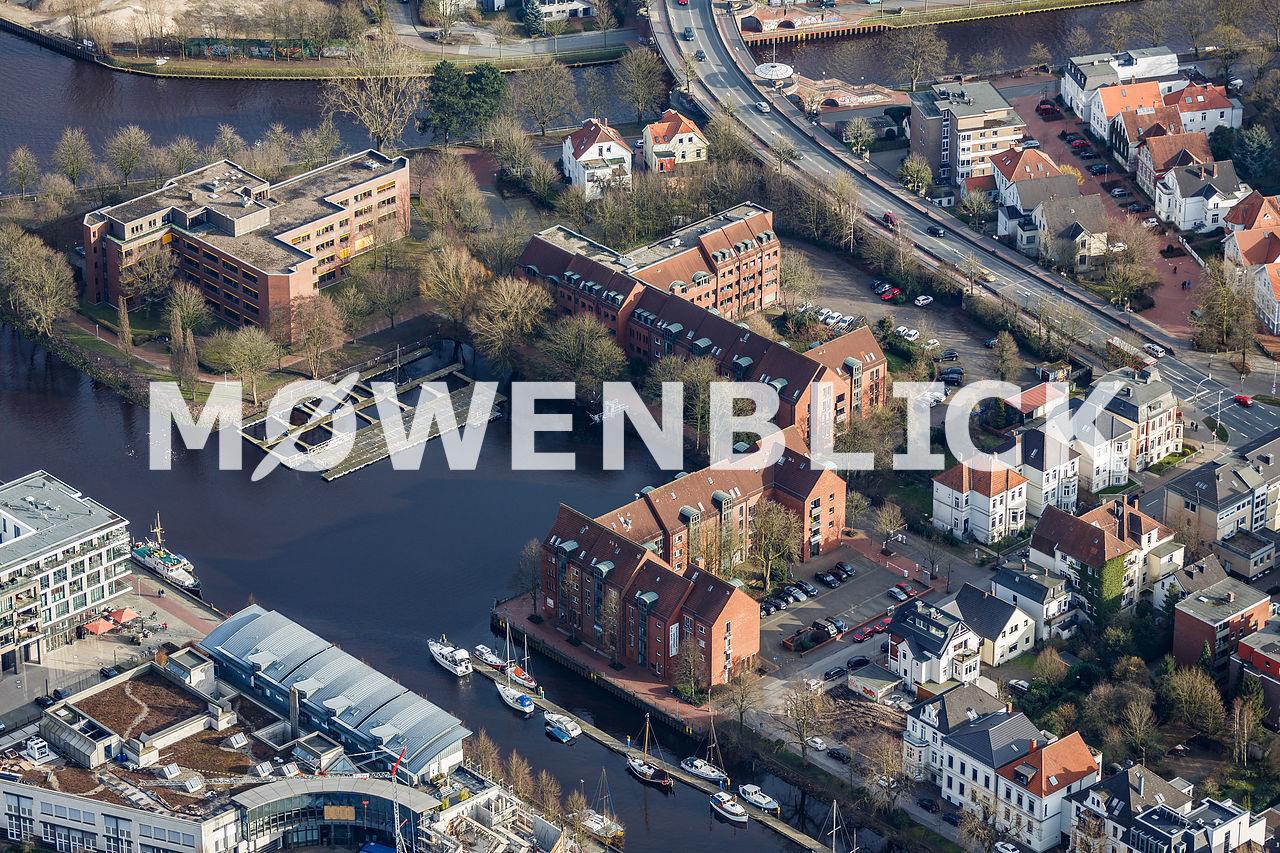 Wendehafen Luftbild