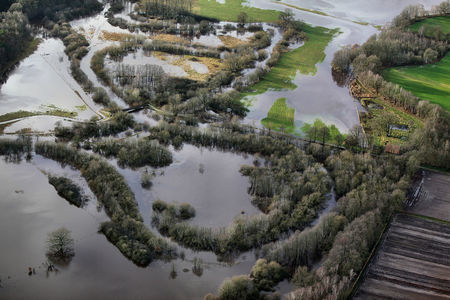 Hunteüberschwemmung