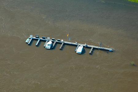 Luftaufnahme Sportboote
