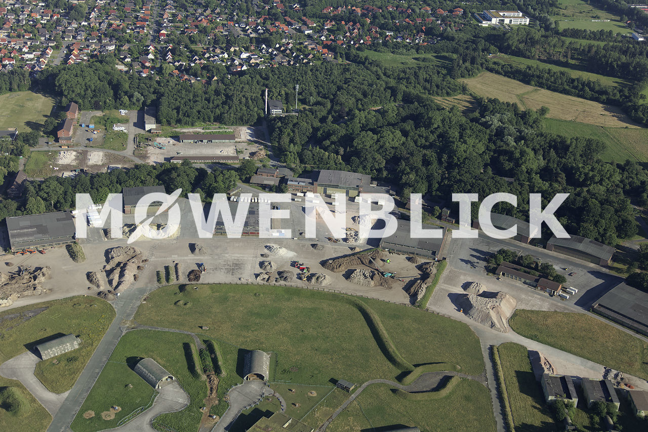 Baustelle Fliegerhorst Luftbild