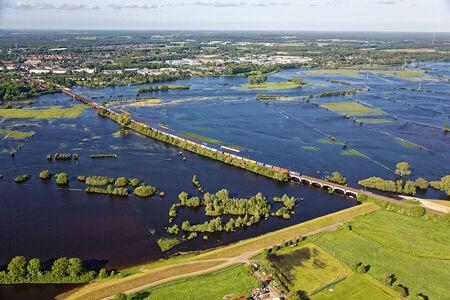 Überschwemmtes Allergebiet
