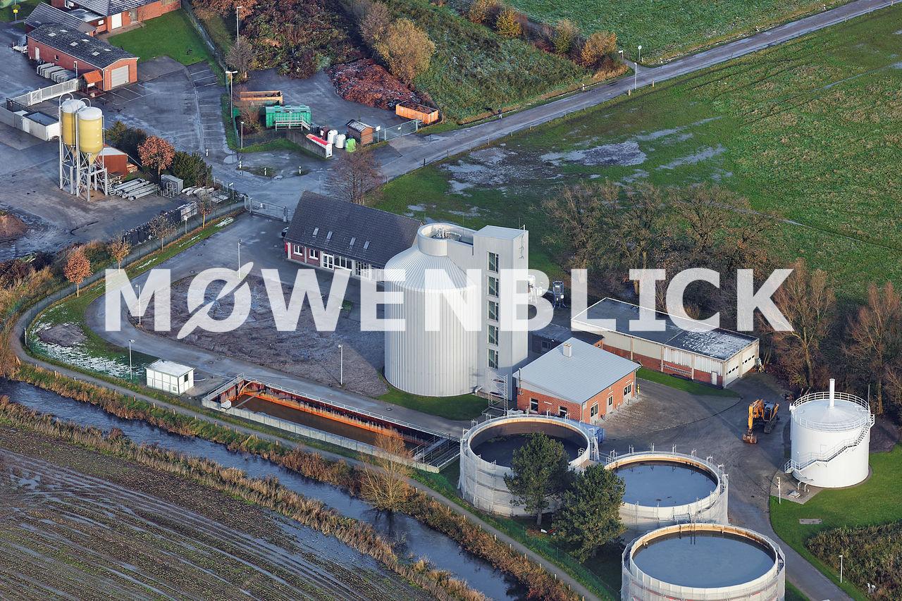 Faulturm Kläranlage Bad Zwischenahn Luftbild