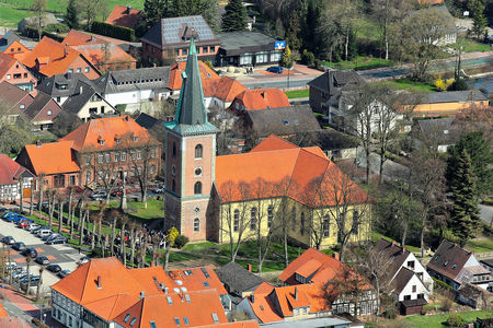Luftaufnahme Christuskirche