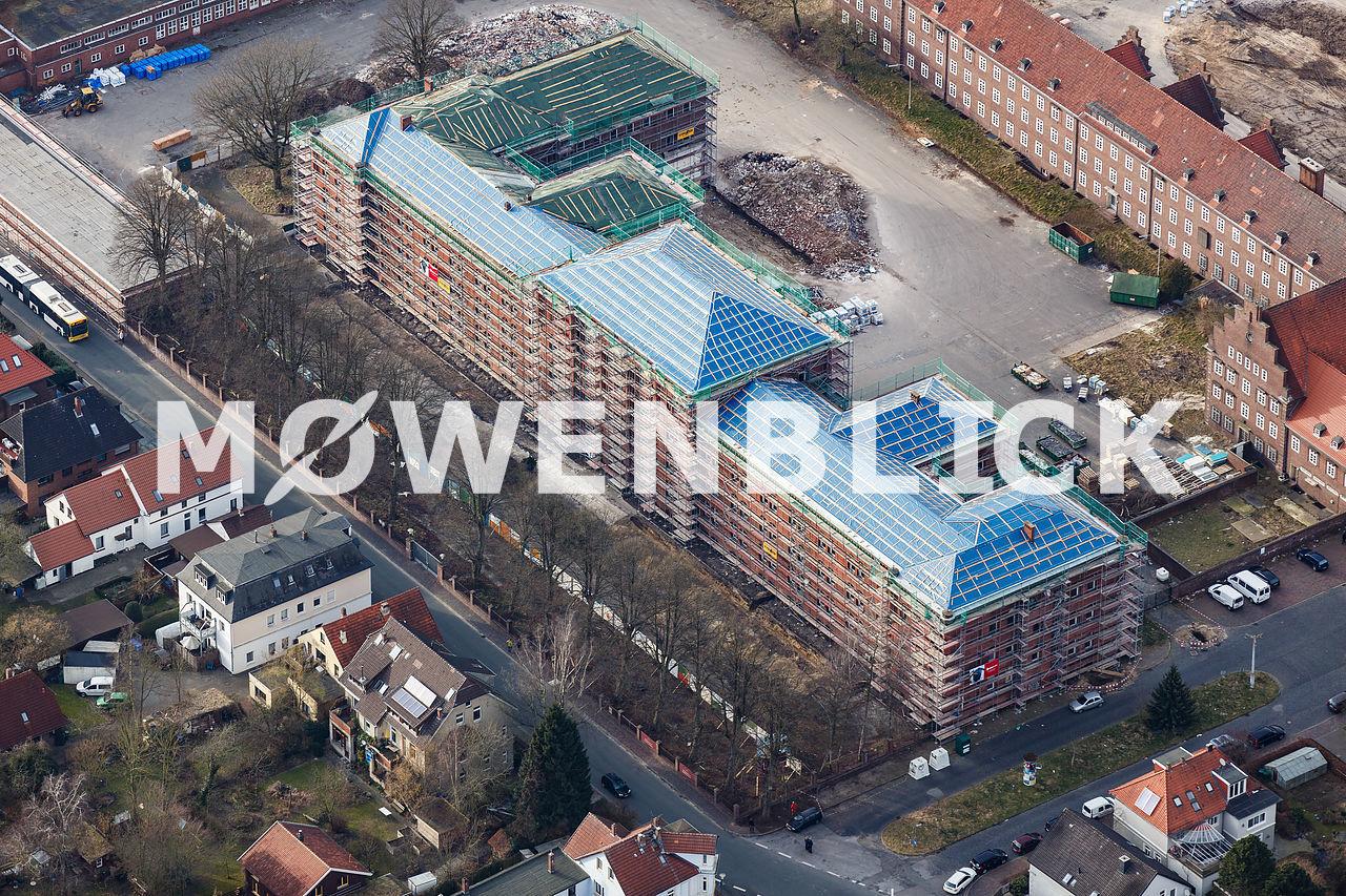 Sanierung Thomasblock Luftbild