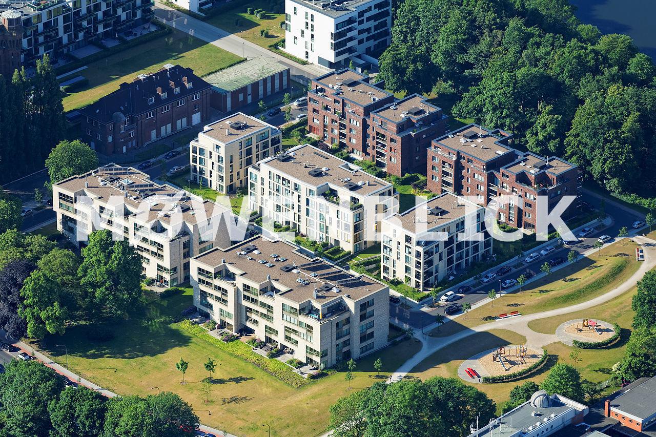 Oberländer Hafen Luftbild