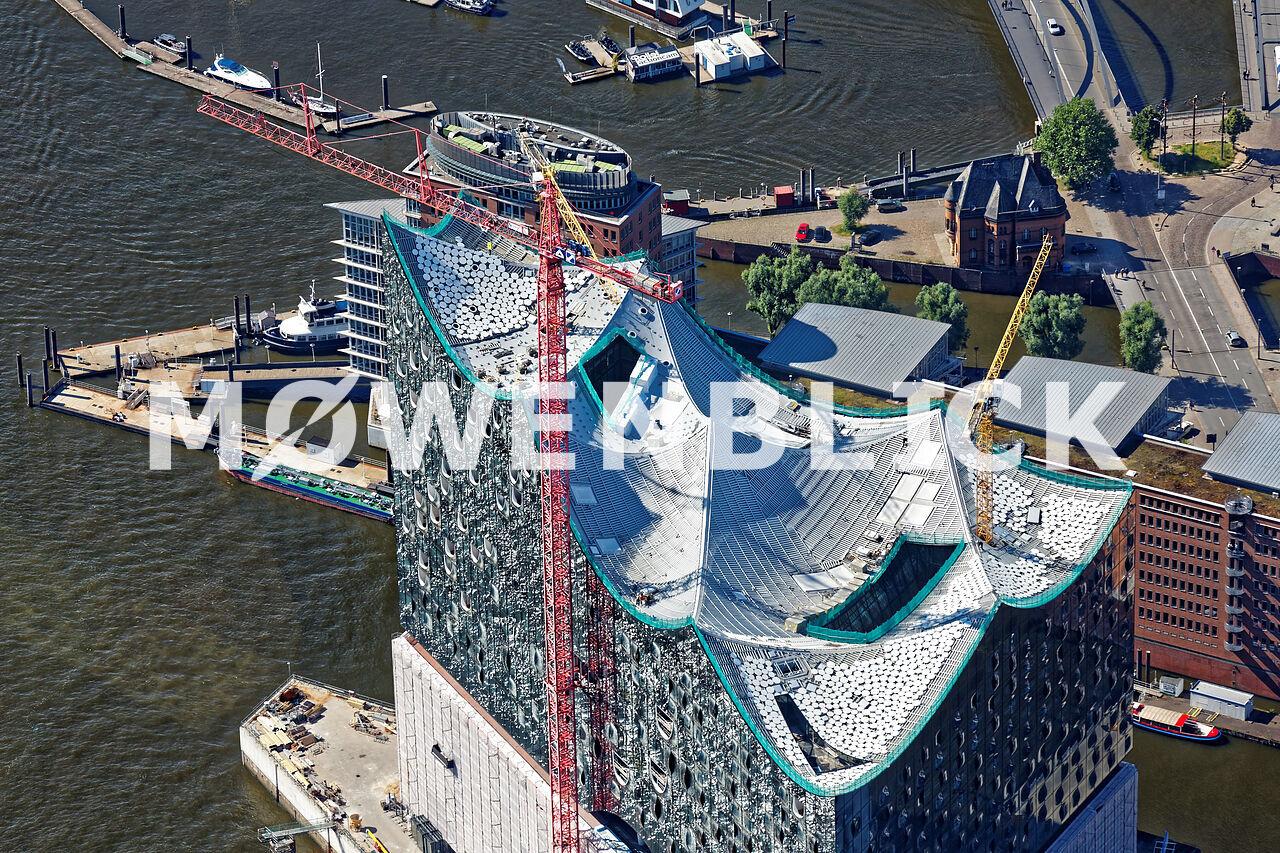Elbphilharmonie Luftbild