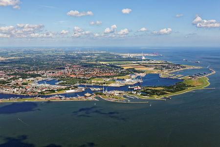 Hafen und Innenstadt