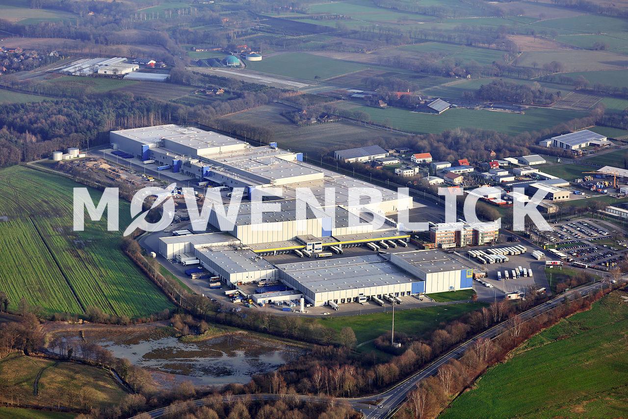 EDEKA Neubau Westerholtsfelde Luftbild