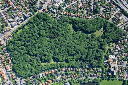 Luftaufnahme Naturschutzgebiet