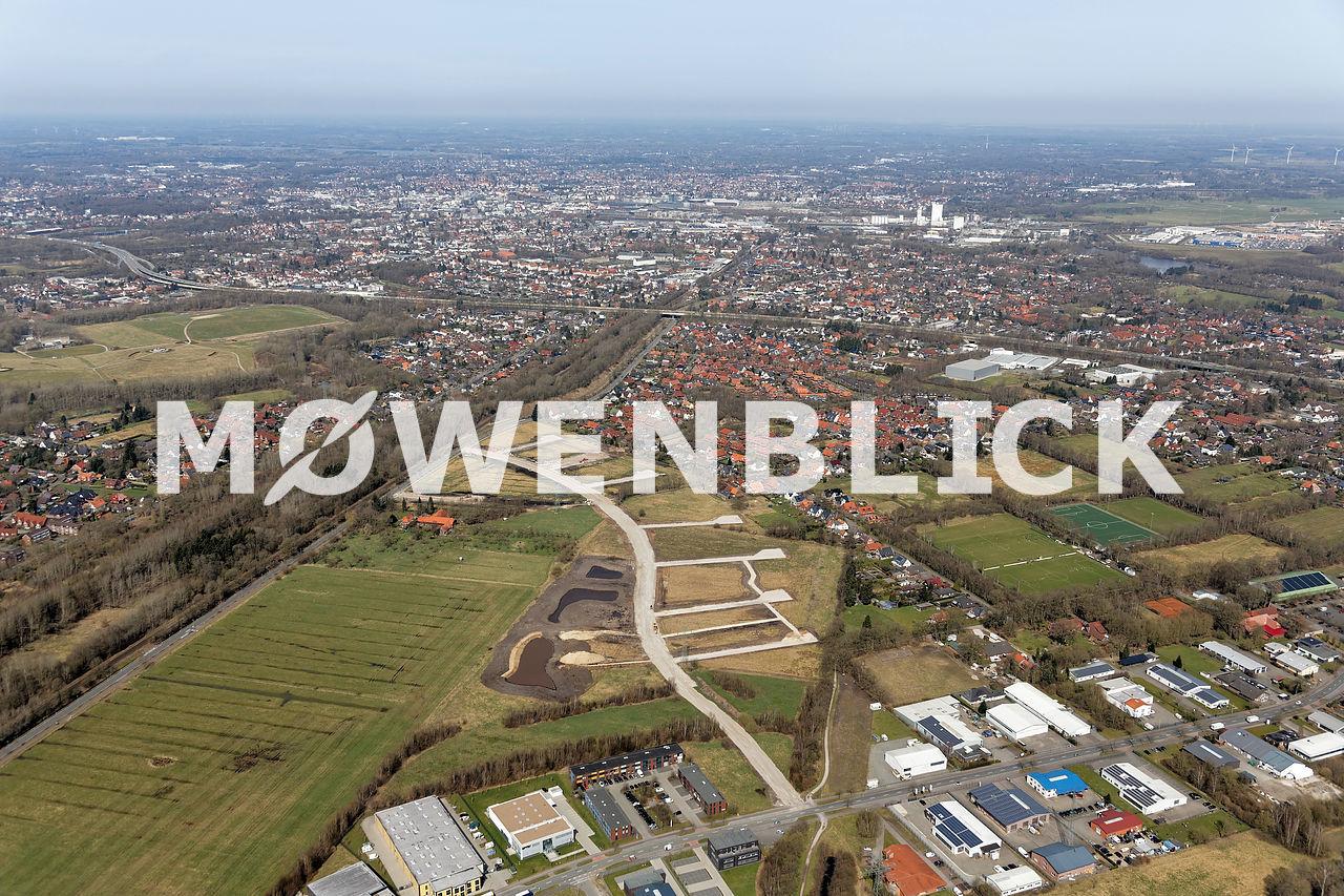 Storchweg Am Bahndamm Luftbild