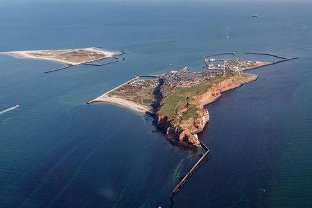 Luftaufnahme Helgoland