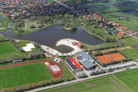 Luftaufnahme Ihler See