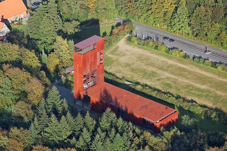 Luftaufnahme Varusschlacht Museum