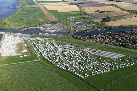 Luftaufnahme Campingplatz Harlesiel