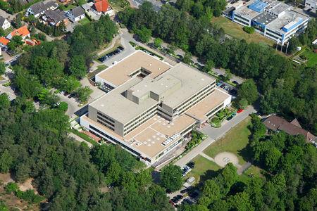 Luftaufnahme Klinik Aller-Weser