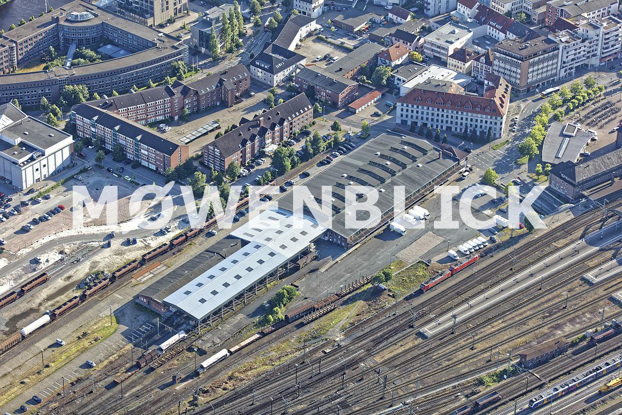 Bahnanlagen Luftbild