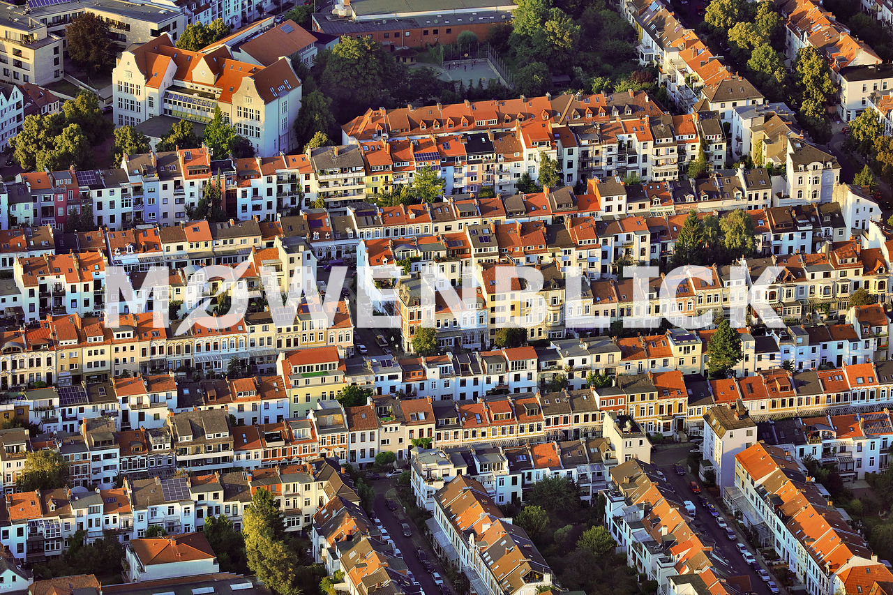 Östliche Vorstadt Luftbild