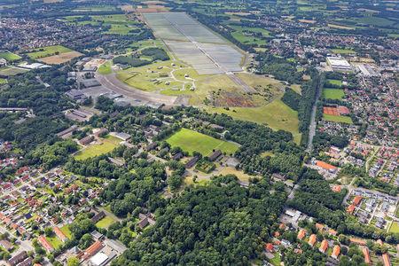 Fliegerhorst Luftaufnahme