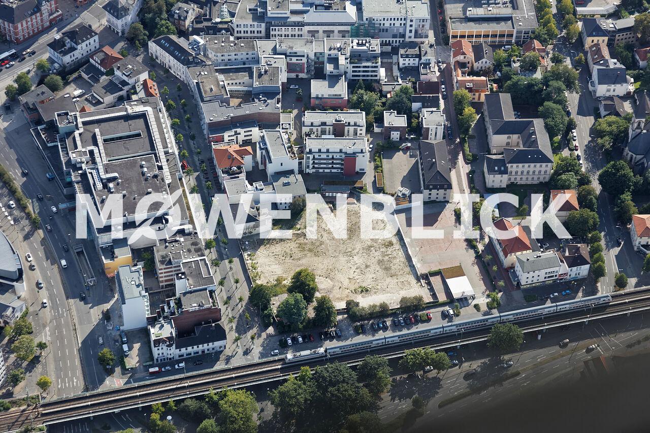 Baustelle Finanzamt Luftbild