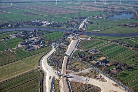 Luftaufnahme Huntebrück