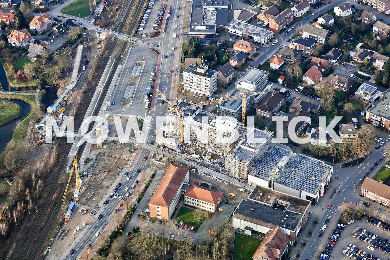 Neubauten Neuer Markt Luftbild
