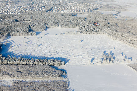 Pestruper Gräberfeld im Schnee