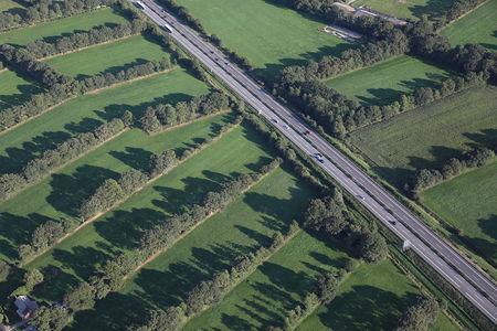 Luftaufnahme Autobahn A 28