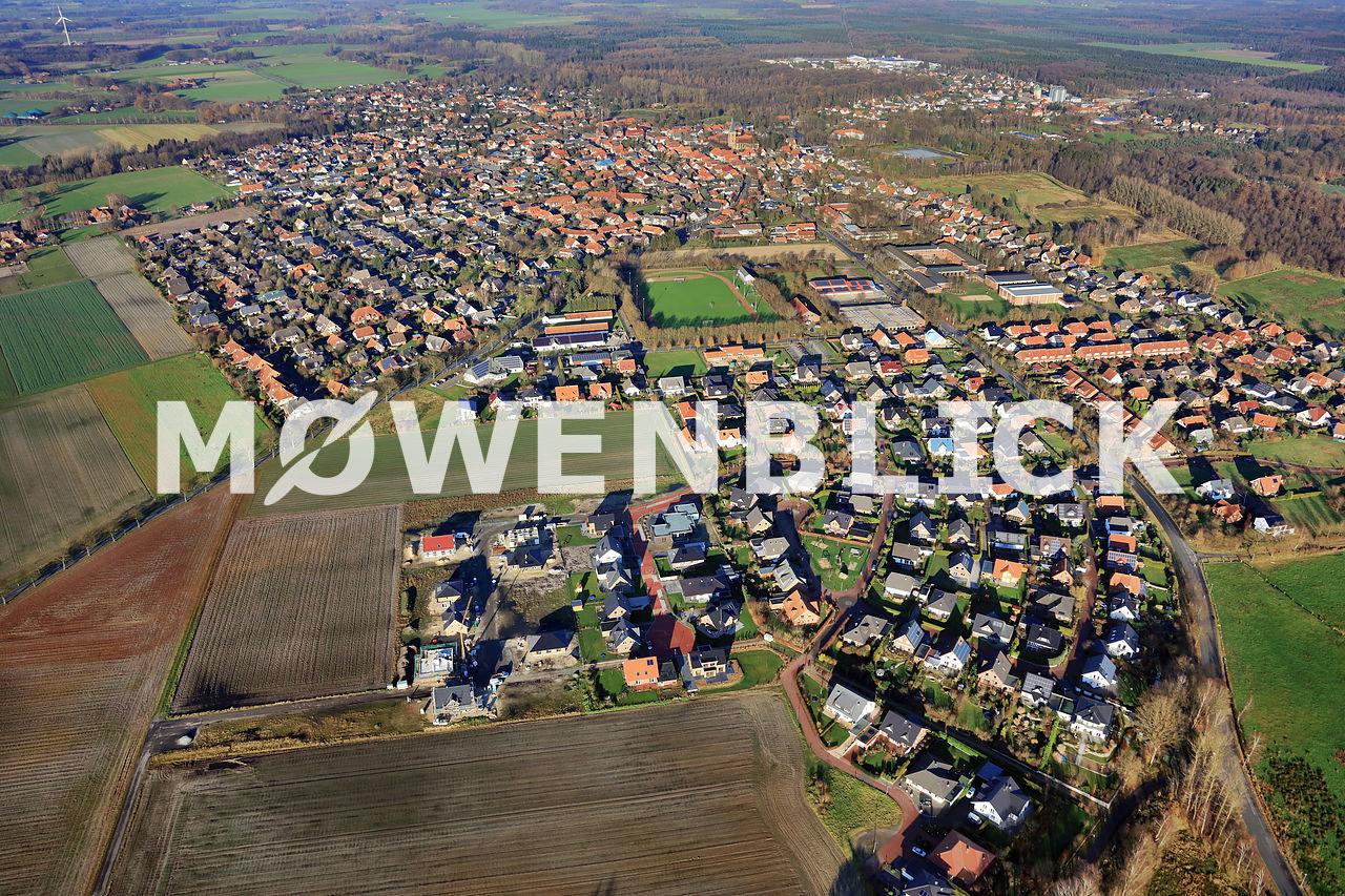 Neubaugebiet Harpstedt Luftbild
