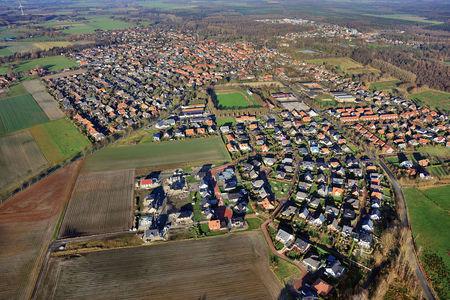 Luftaufnahme Neubaugebiet Harpstedt