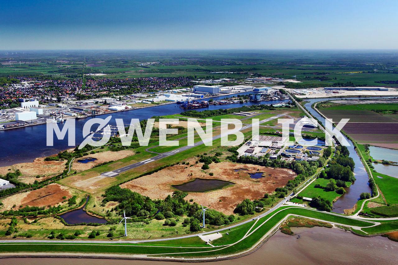 Flugplatz Bremerhaven Luftbild