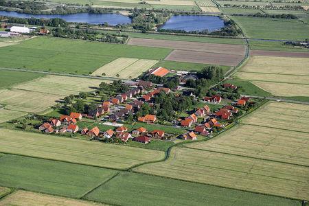 Luftaufnahme Stadt Siedlung Soltborg