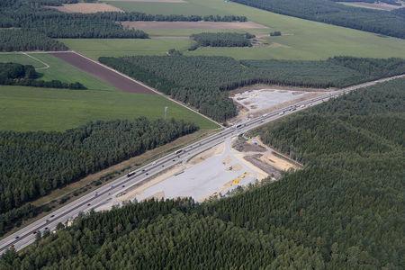 Luftaufnahme Parkplatz Engelmannsbäke